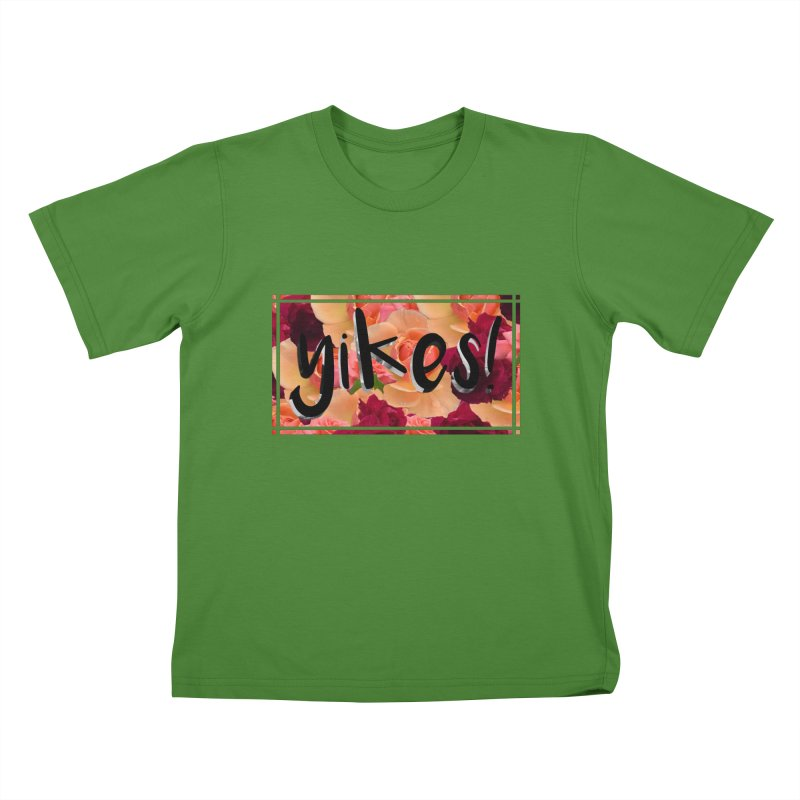 yikes! Kids T-Shirt by laterlouie's Artist Shop