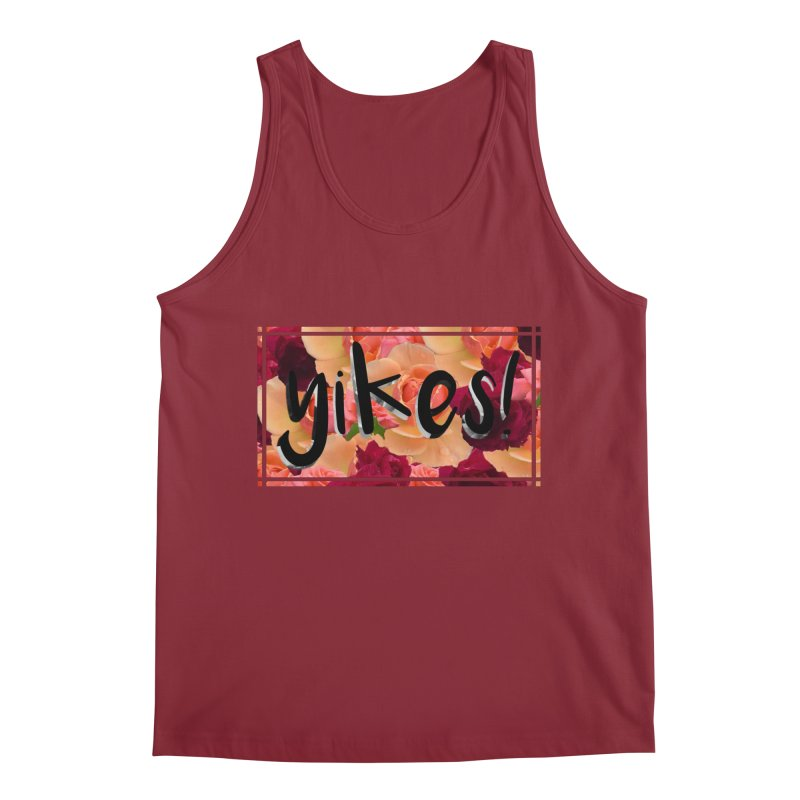 yikes! Men's Tank by Later Louie's Artist Shop
