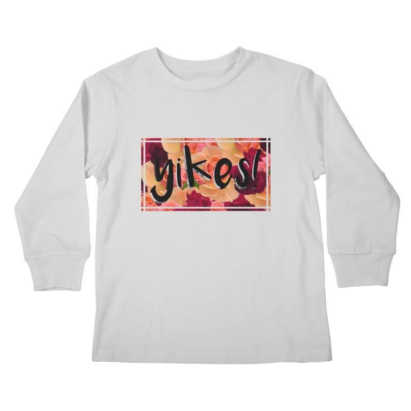 yikes! Kids Longsleeve T-Shirt by Later Louie's Artist Shop