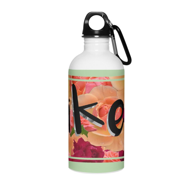 yikes! Accessories Water Bottle by Later Louie's Artist Shop
