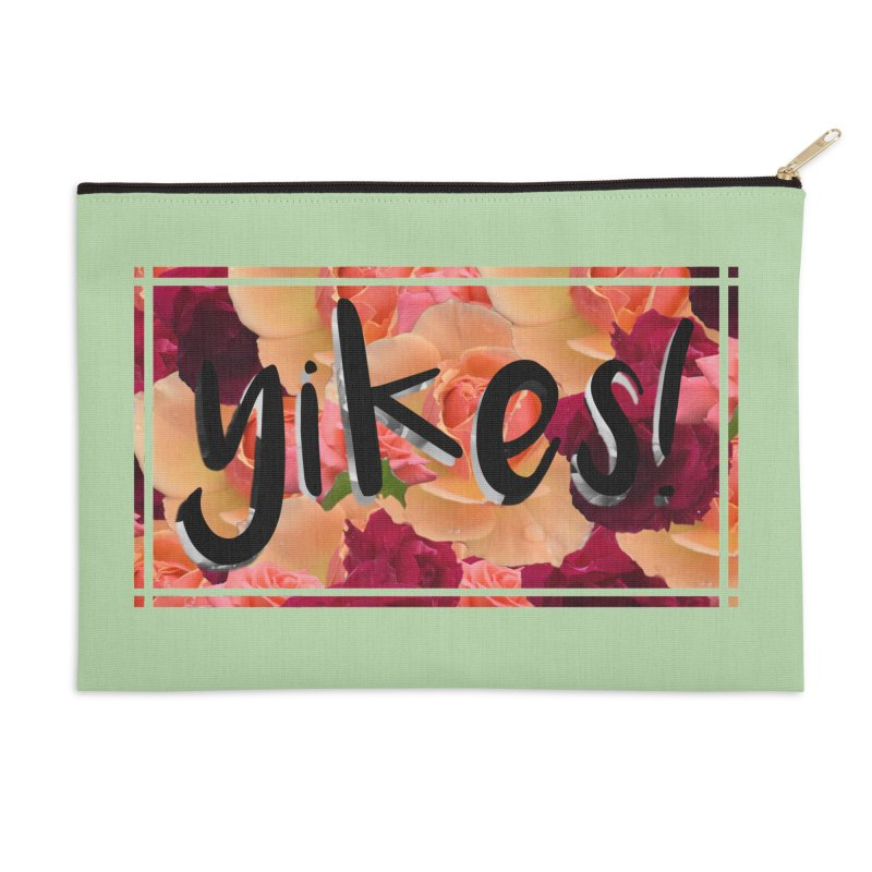 yikes! Accessories Zip Pouch by Later Louie's Artist Shop