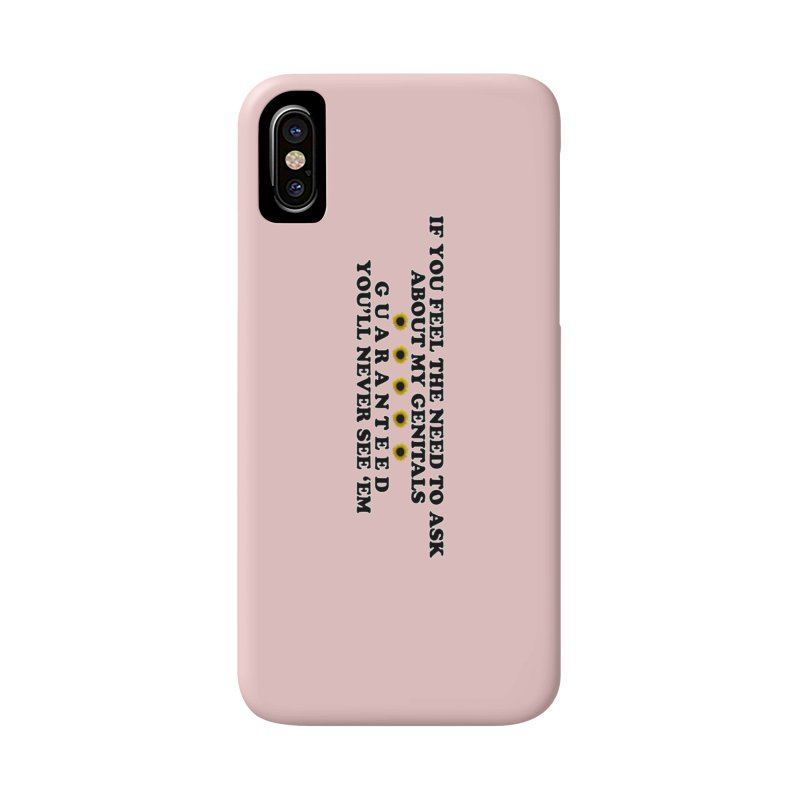 MYB (Mind Your Business) Accessories Phone Case by laterlouie's Artist Shop
