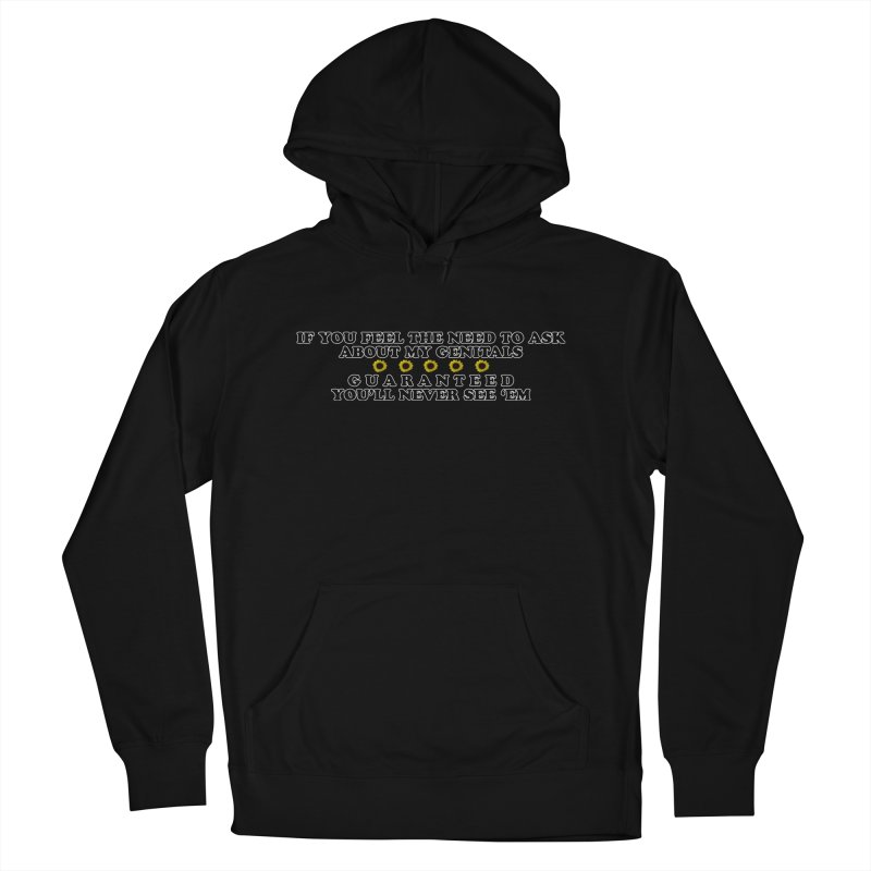 MYB (Mind Your Business) Men's French Terry Pullover Hoody by laterlouie's Artist Shop