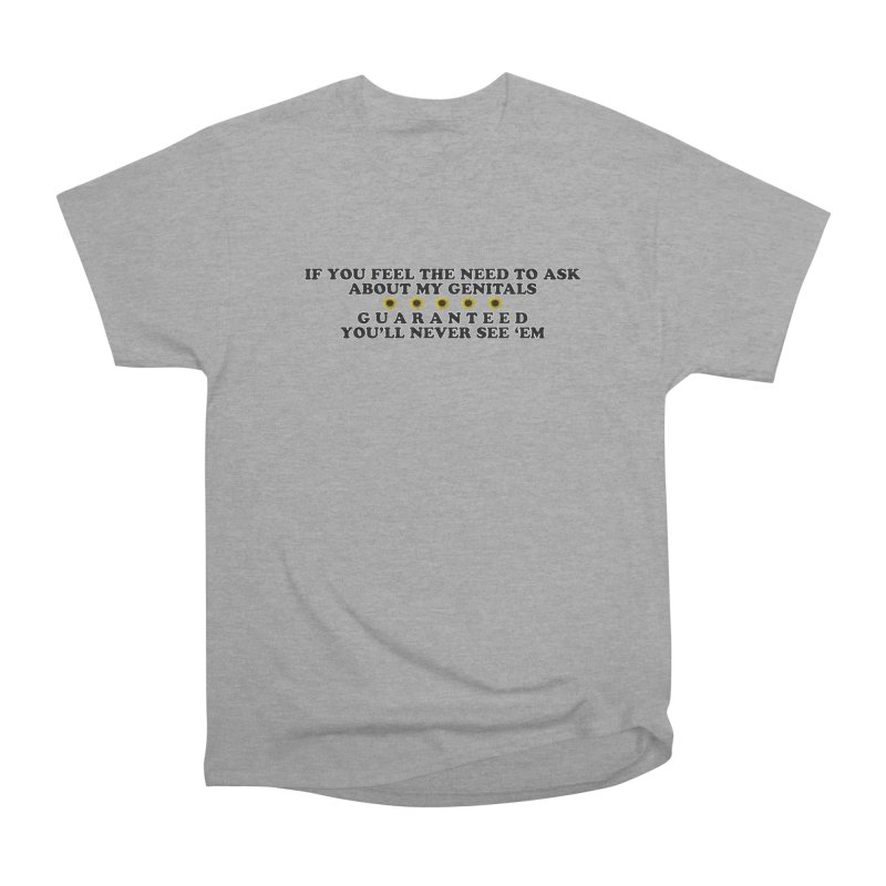 MYB (Mind Your Business) Men's Heavyweight T-Shirt by Later Louie's Artist Shop