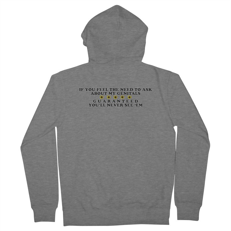 MYB (Mind Your Business) Women's Zip-Up Hoody by Later Louie's Artist Shop