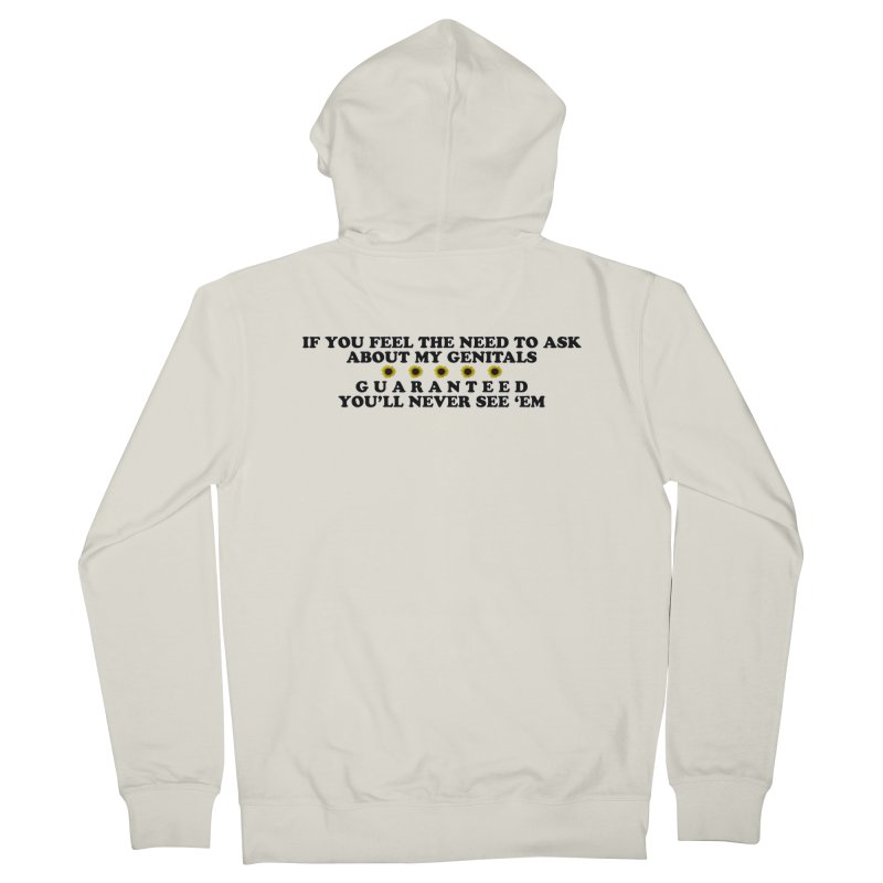 MYB (Mind Your Business) Women's French Terry Zip-Up Hoody by laterlouie's Artist Shop