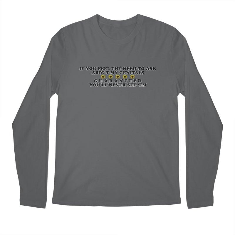 MYB (Mind Your Business) Men's Regular Longsleeve T-Shirt by Later Louie's Artist Shop