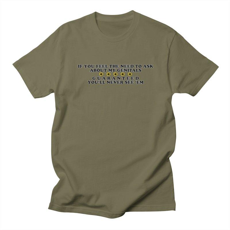 MYB (Mind Your Business) Men's Regular T-Shirt by Later Louie's Artist Shop