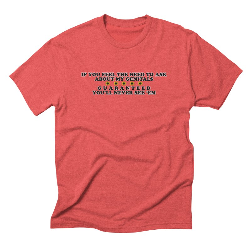 MYB (Mind Your Business) Men's Triblend T-Shirt by Later Louie's Artist Shop