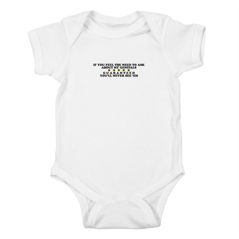 MYB (Mind Your Business) Kids Baby Bodysuit by laterlouie's Artist Shop