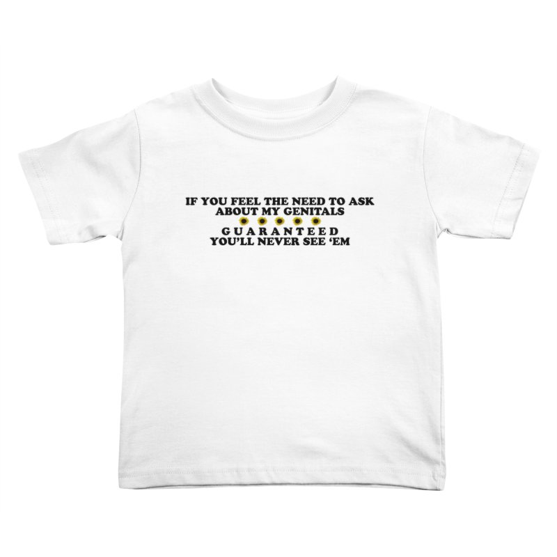 MYB (Mind Your Business) Kids Toddler T-Shirt by Later Louie's Artist Shop