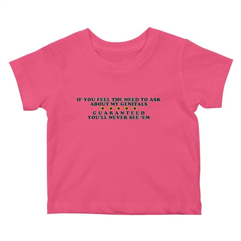 MYB (Mind Your Business) Kids Baby T-Shirt by laterlouie's Artist Shop