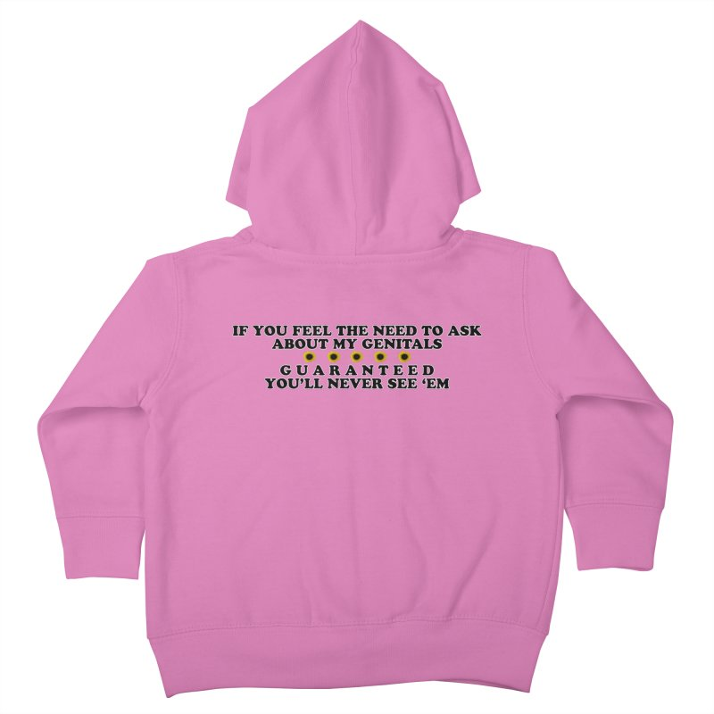 MYB (Mind Your Business) Kids Toddler Zip-Up Hoody by Later Louie's Artist Shop