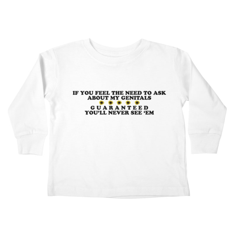 MYB (Mind Your Business) Kids Toddler Longsleeve T-Shirt by Later Louie's Artist Shop