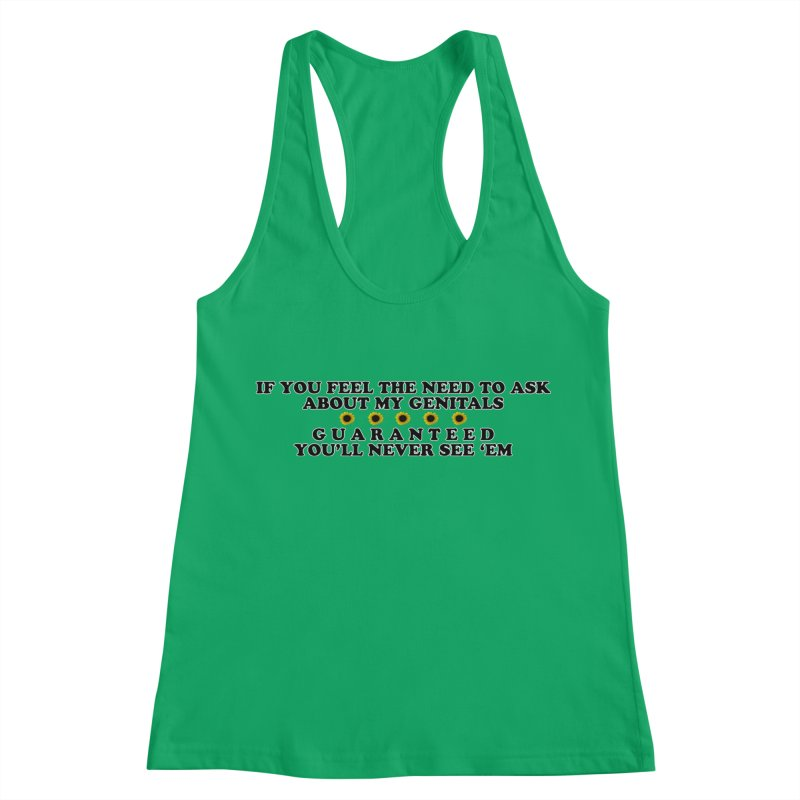 MYB (Mind Your Business) Women's Racerback Tank by Later Louie's Artist Shop