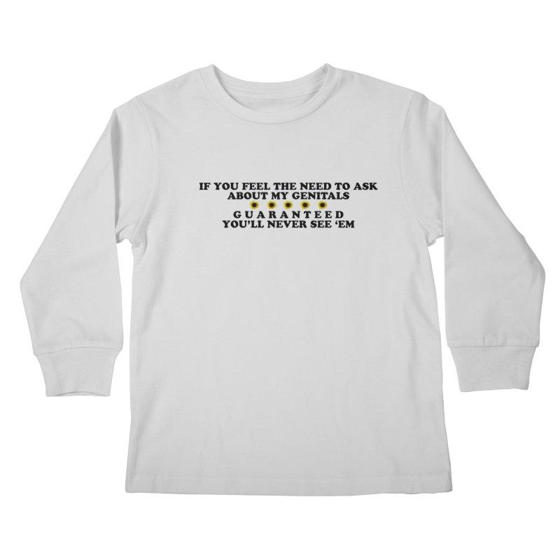 MYB (Mind Your Business) Kids Longsleeve T-Shirt by laterlouie's Artist Shop
