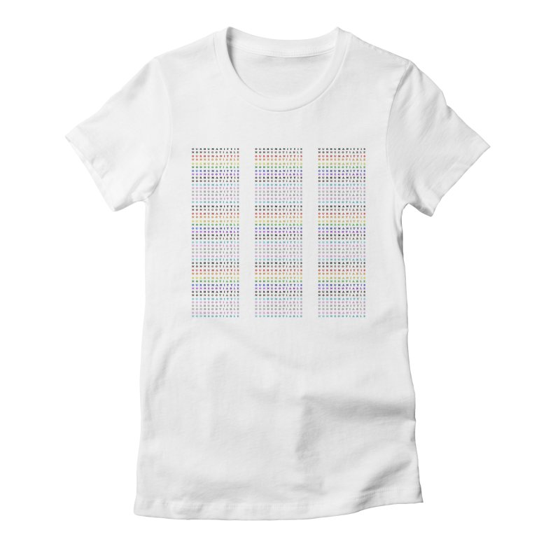 PRIDE Women's Fitted T-Shirt by laterlouie's Artist Shop