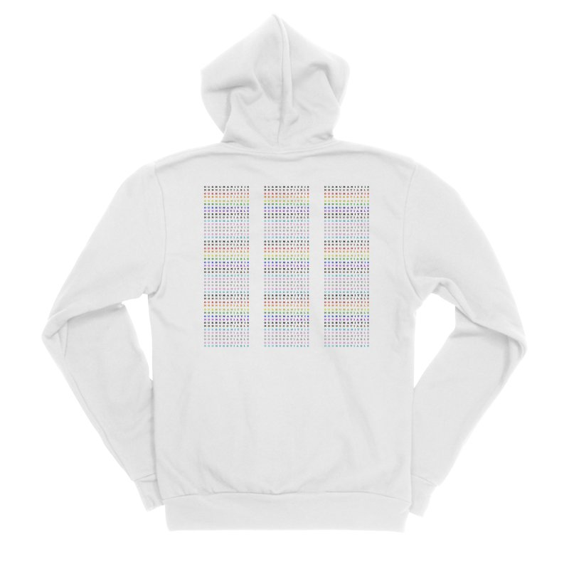 PRIDE Women's Zip-Up Hoody by Later Louie's Artist Shop