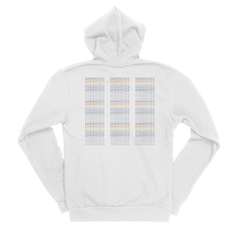 PRIDE Men's Sponge Fleece Zip-Up Hoody by Later Louie's Artist Shop