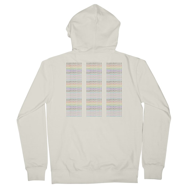 PRIDE Men's Zip-Up Hoody by Later Louie's Artist Shop