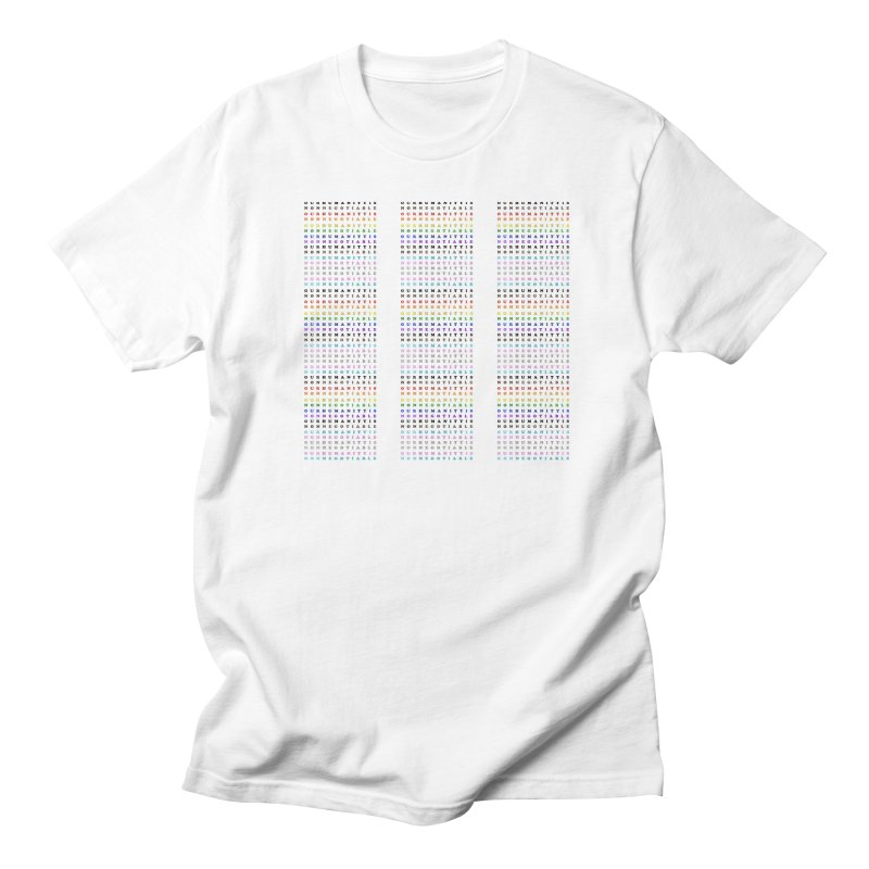 PRIDE Women's Regular Unisex T-Shirt by Later Louie's Artist Shop