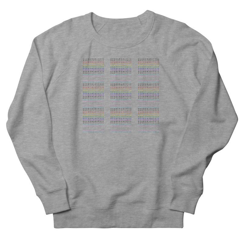 PRIDE Women's French Terry Sweatshirt by Later Louie's Artist Shop