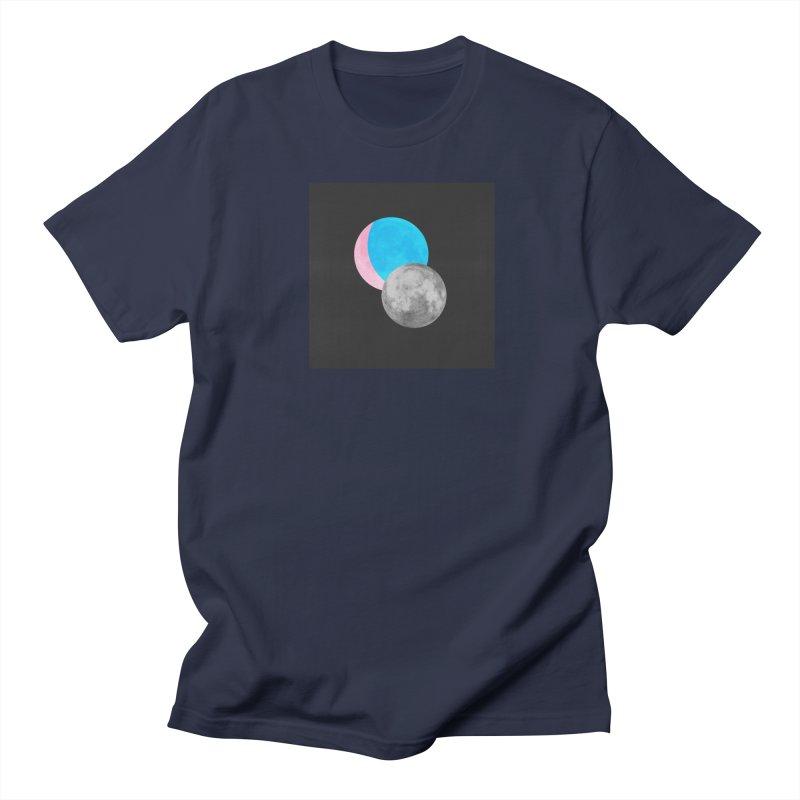 TMOONZ Men's Regular T-Shirt by laterlouie's Artist Shop