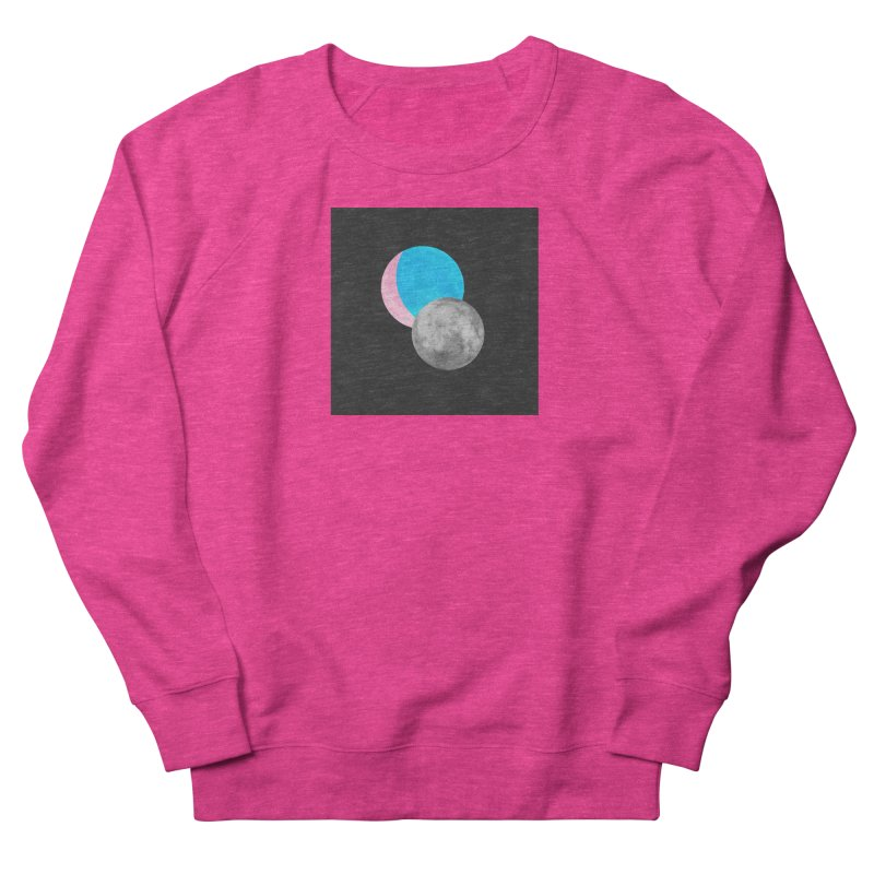 TMOONZ Men's French Terry Sweatshirt by Later Louie's Artist Shop