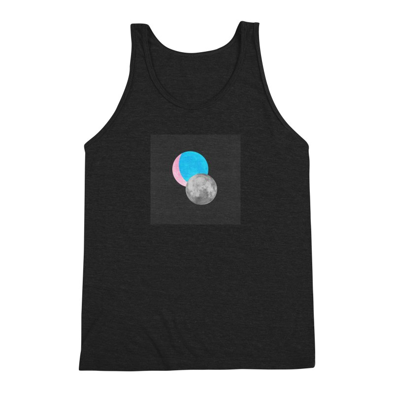 TMOONZ Men's Triblend Tank by laterlouie's Artist Shop