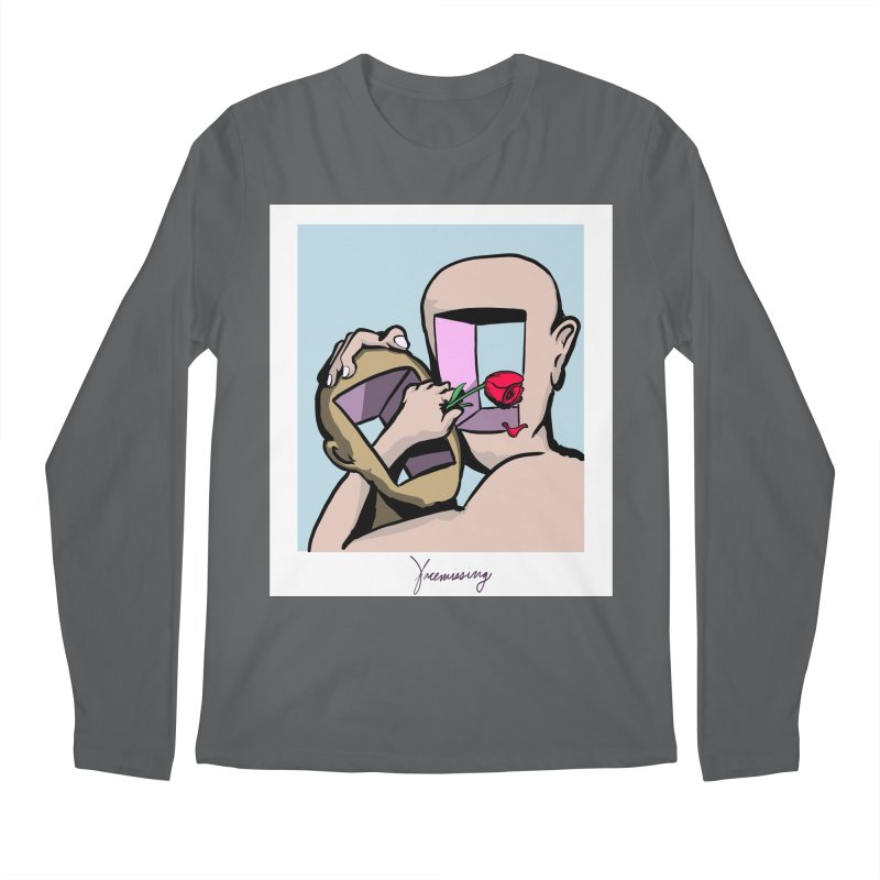 Face Missing Men's Longsleeve T-Shirt by latterhalves's Artist Shop