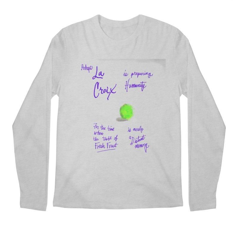 Perhaps LIME Men's Longsleeve T-Shirt by latterhalves's Artist Shop