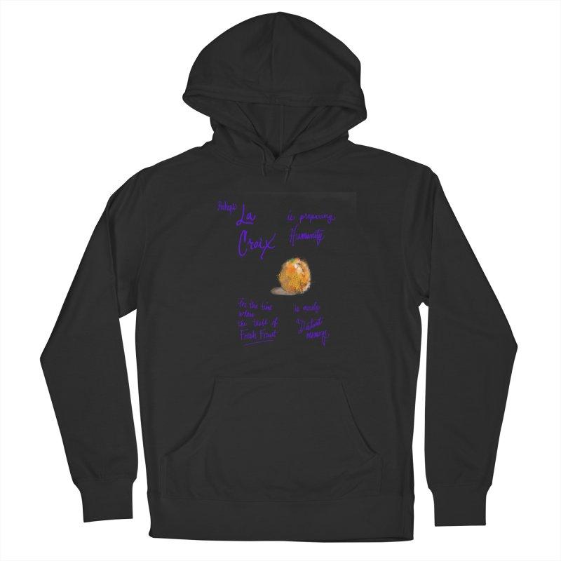 Perhaps Orange Men's Pullover Hoody by latterhalves's Artist Shop