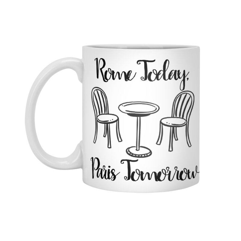 Rome Today Mug Accessories Mug by The Official Lattes, Life & Luggage Shop