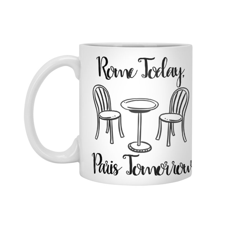 Rome Today Mug Accessories Standard Mug by The Official Lattes, Life & Luggage Shop