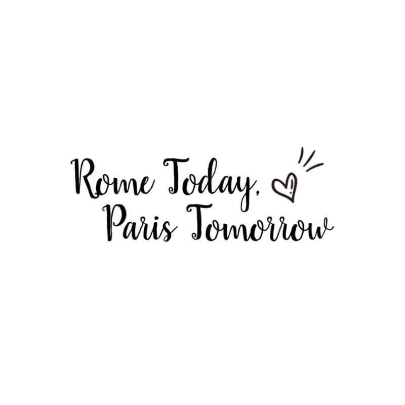 Rome Today Long Zip Pouch by The Official Lattes, Life & Luggage Shop