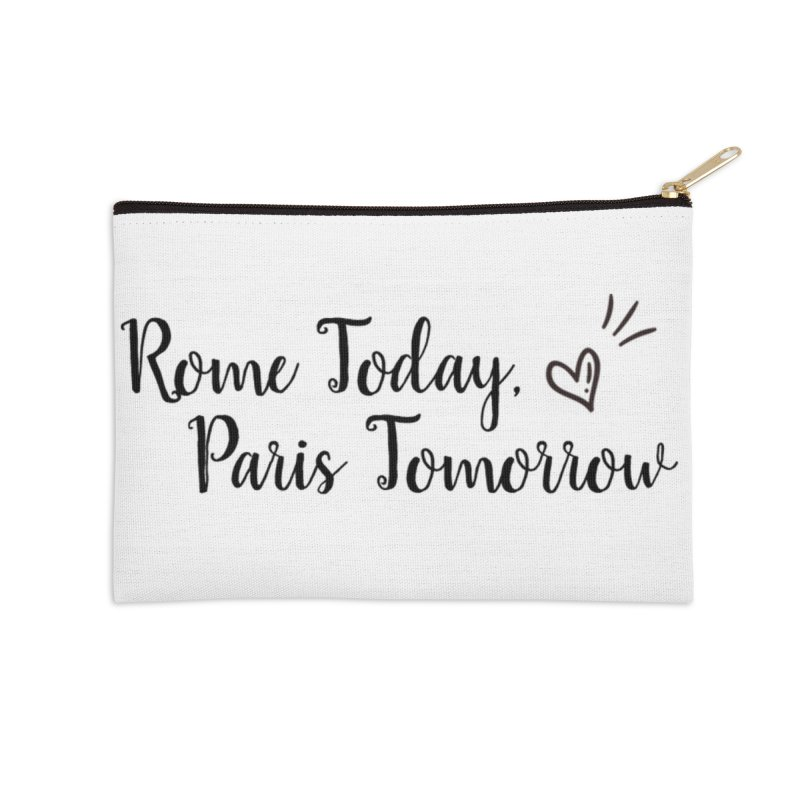Rome Today Long Zip Pouch Accessories Zip Pouch by The Official Lattes, Life & Luggage Shop