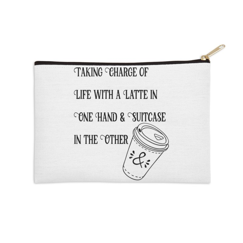Taking Charge Pouch Accessories Zip Pouch by The Official Lattes, Life & Luggage Shop