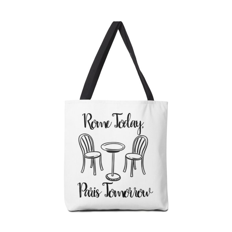 Rome Today Tote Accessories Bag by The Official Lattes, Life & Luggage Shop
