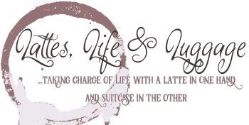 The Official Lattes, Life & Luggage Shop Logo