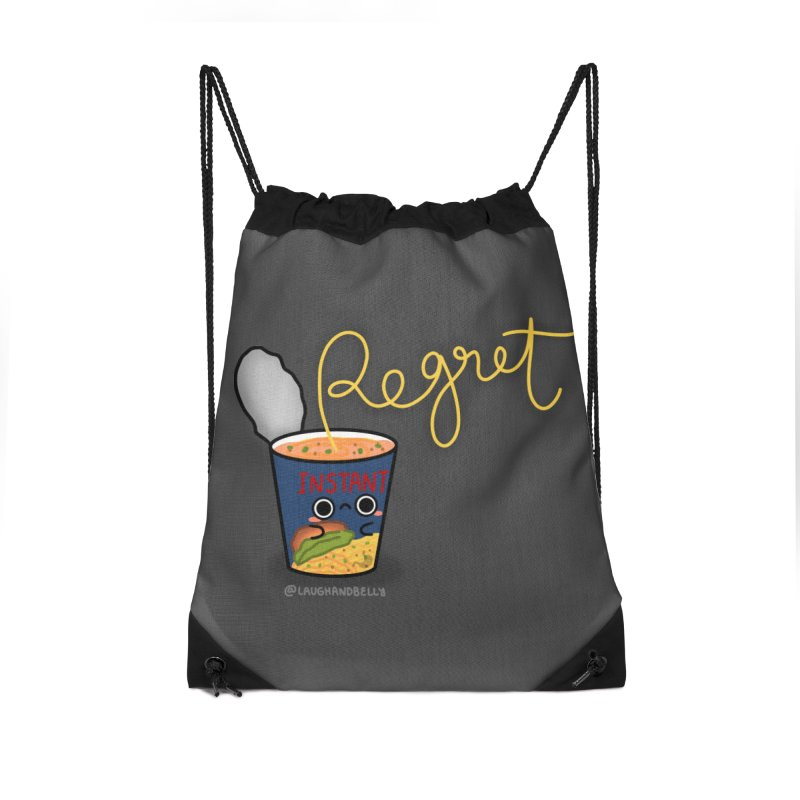 Instant Regret Accessories Bag by Laugh And Belly's Merch