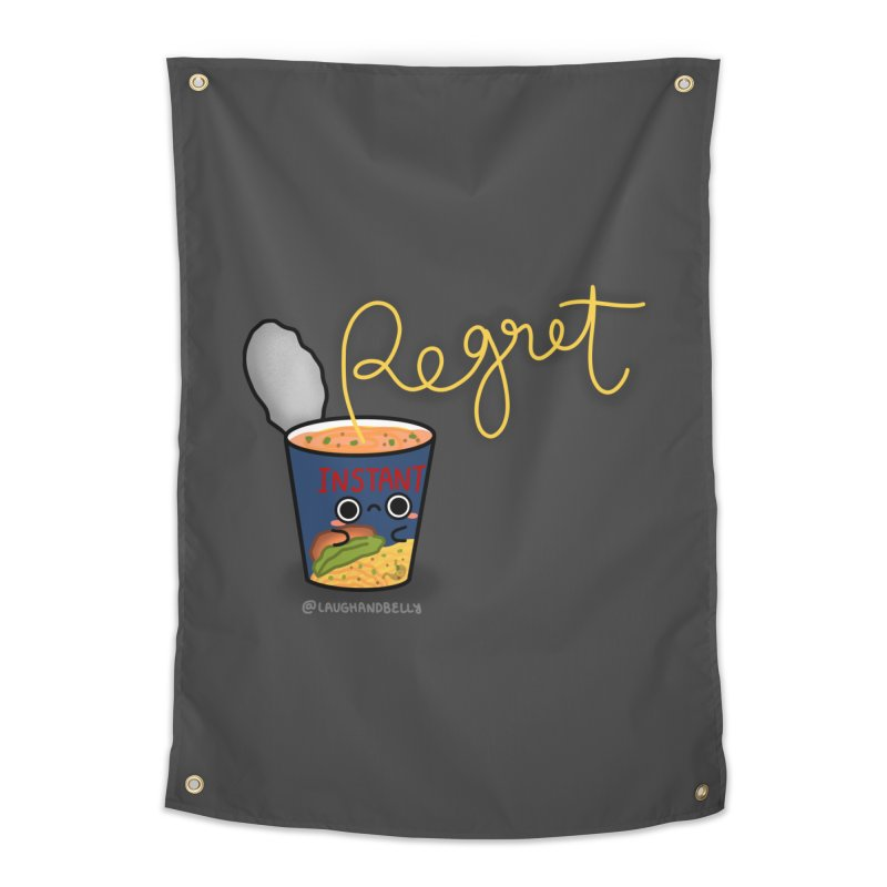 Instant Regret Home Tapestry by Laugh And Belly's Merch