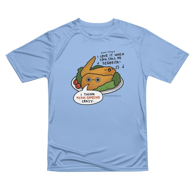Ayam Goreng Crazy (By Singaporeans For Singaporeans) Men's T-Shirt by Laugh And Belly's Merch