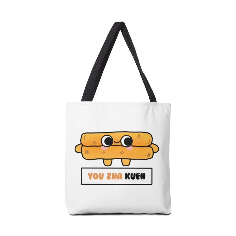 You Zha Kueh (By Singaporeans For Singaporeans) Accessories Bag by Laugh And Belly's Merch