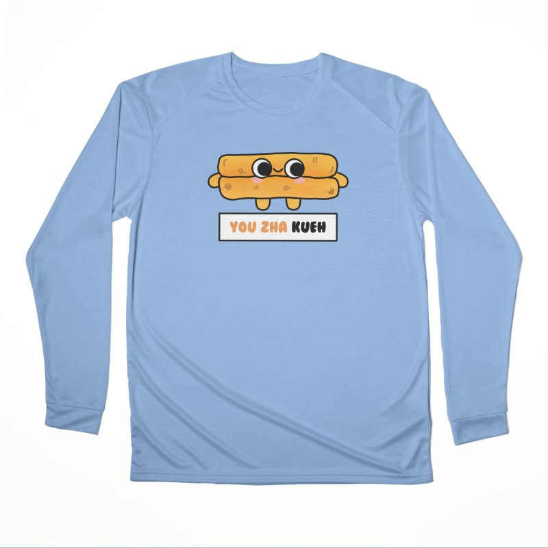 You Zha Kueh (By Singaporeans For Singaporeans) Women's Longsleeve T-Shirt by Laugh And Belly's Merch