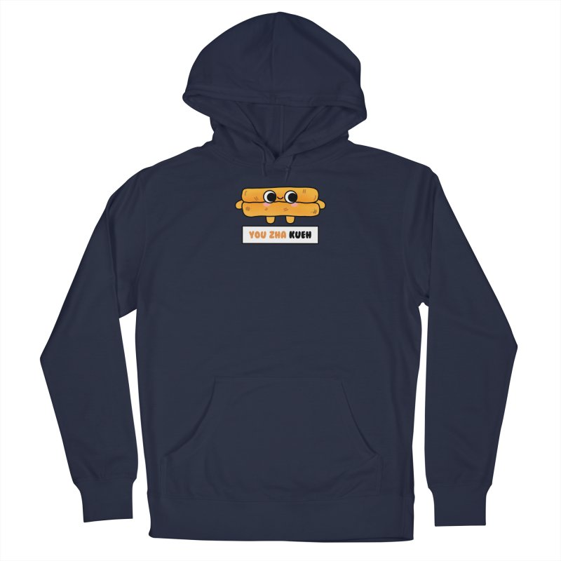 You Zha Kueh (By Singaporeans For Singaporeans) Men's Pullover Hoody by Laugh And Belly's Merch