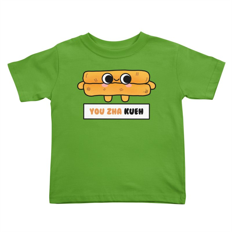 You Zha Kueh (By Singaporeans For Singaporeans) Kids Toddler T-Shirt by Laugh And Belly's Merch