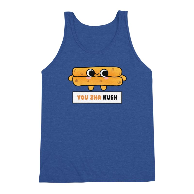 You Zha Kueh (By Singaporeans For Singaporeans) Men's Tank by Laugh And Belly's Merch