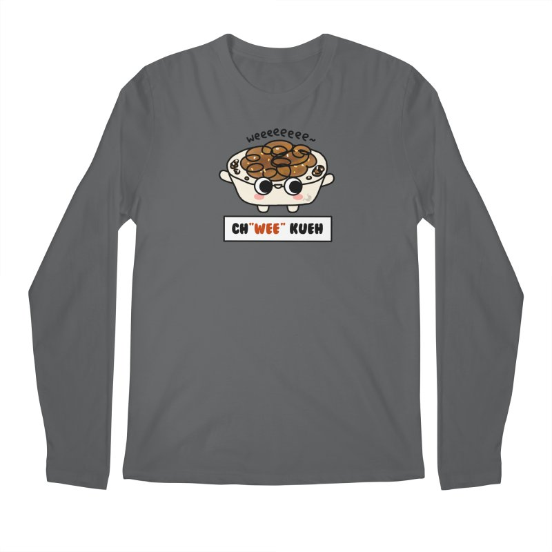 Ch(wee) Kueh (By Singaporeans For Singaporeans) Men's Longsleeve T-Shirt by Laugh And Belly's Merch