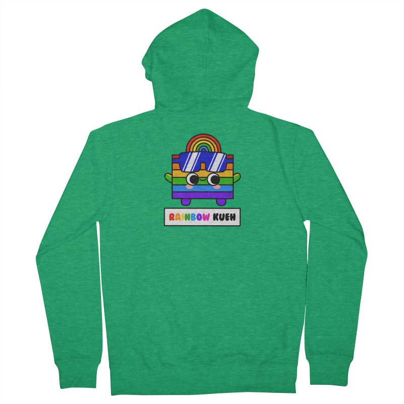 Rainbow Kueh (By Singaporeans For Singaporeans) Men's Zip-Up Hoody by Laugh And Belly's Merch