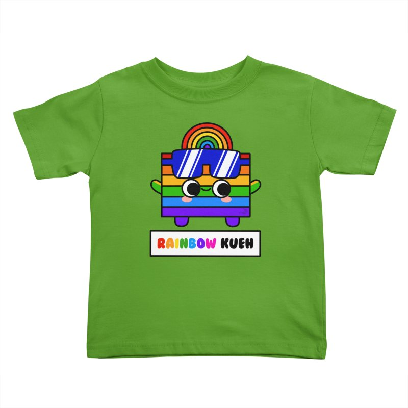Rainbow Kueh (By Singaporeans For Singaporeans) Kids Toddler T-Shirt by Laugh And Belly's Merch